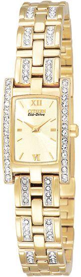 EG2352-52P - Authorized Citizen watch dealer - LADIES Citizen SILHOUETTE CRYSTAL, Citizen watch, Citizen watches