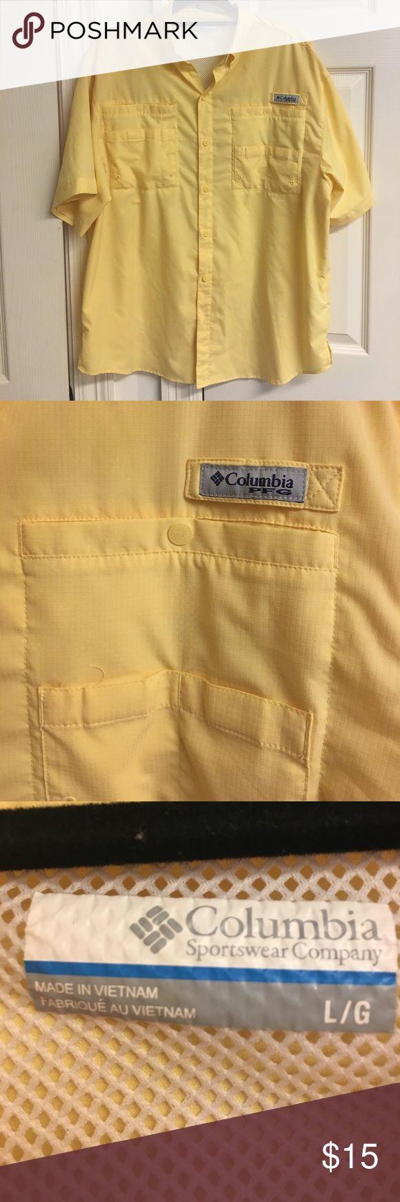 Columbia PFG shirt Fishing shirt Columbia Tops Button Down Shirts