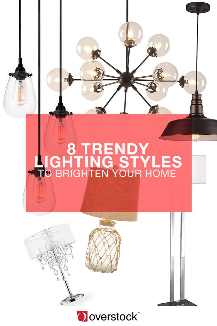 Illuminate your home with light fixtures that brighten your style as well as your space. Browse these popular lighting styles to find a look you'll love in your home.