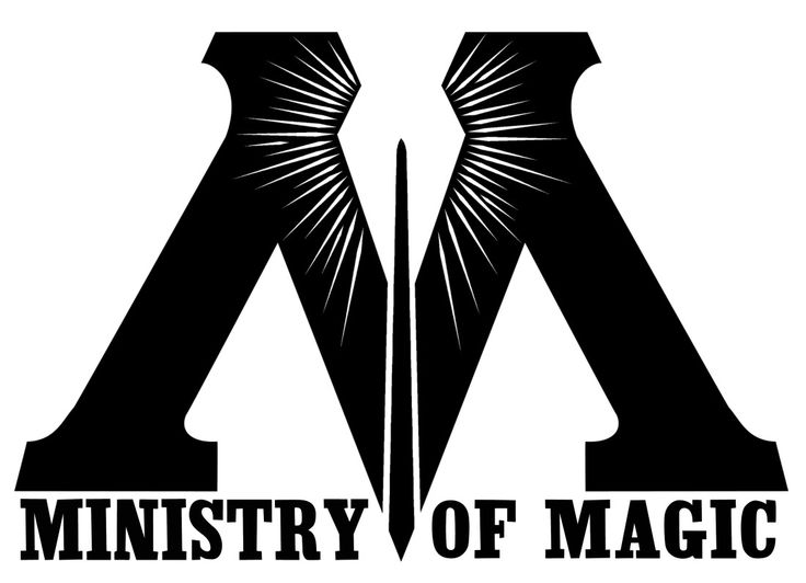 Ministry of Magic logo, Harry Potter. Taken from https://www.pottermore.com/features/the-macusa-seal-and-other-emblems-of-the-wizarding-world
