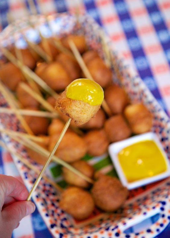 Corn Dog Pops {Football Friday}