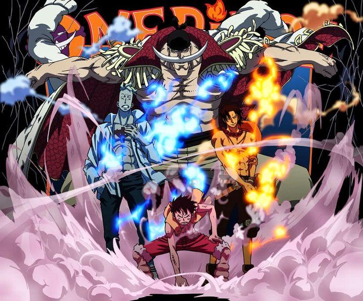 Guerra de Marineford! (One Piece)