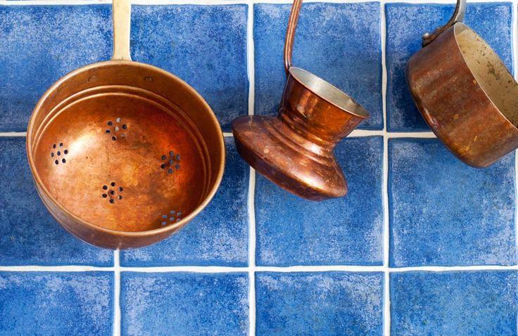Putsa koppar med ättika och salt – strålande resultat