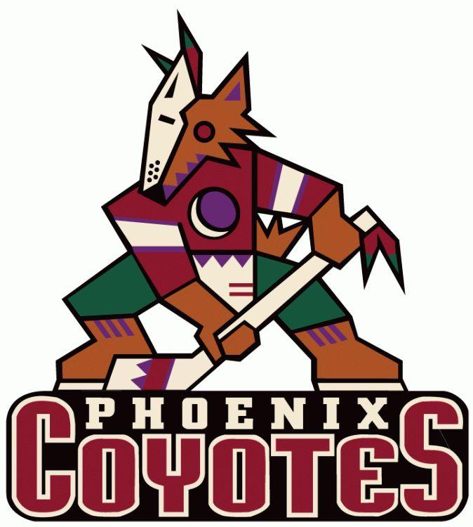 Phoenix Coyotes logo 1996-2003