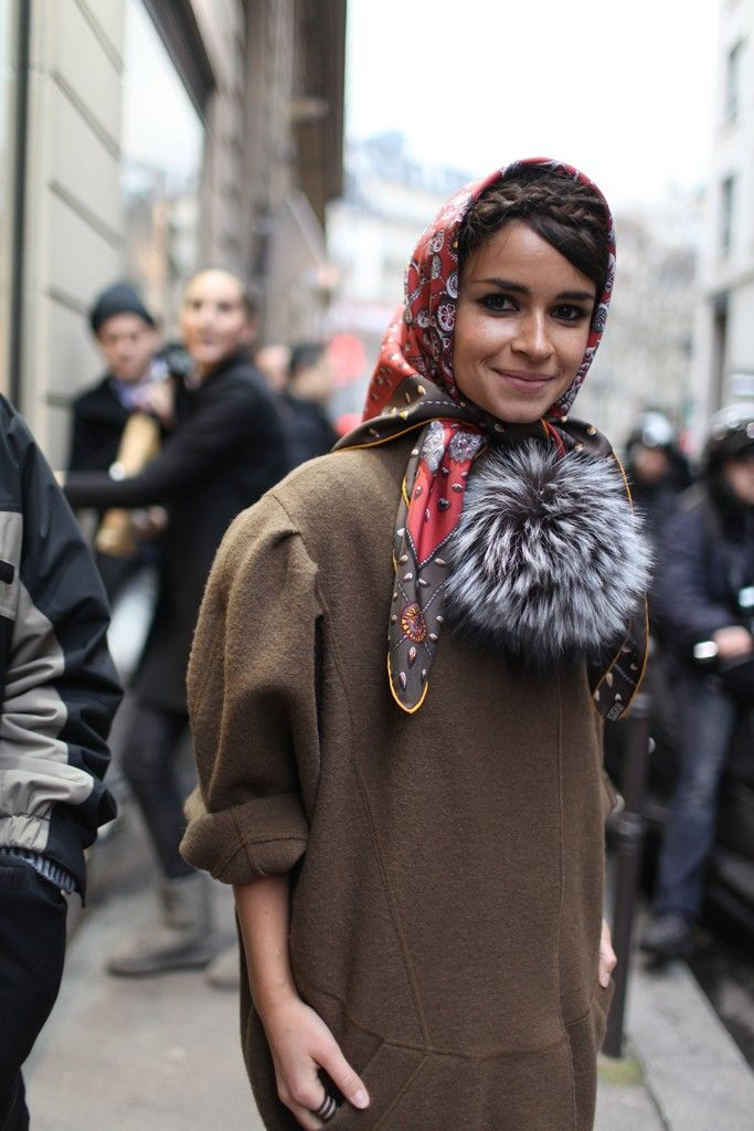 Miroslava Duma out and about in Paris.