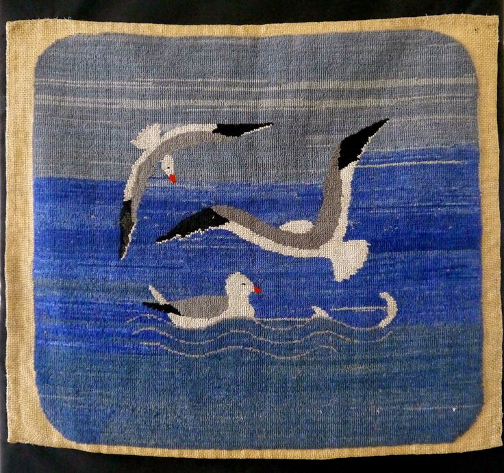 Sense and Simplicity - Grenfell hooked rugs, Newfoundland
