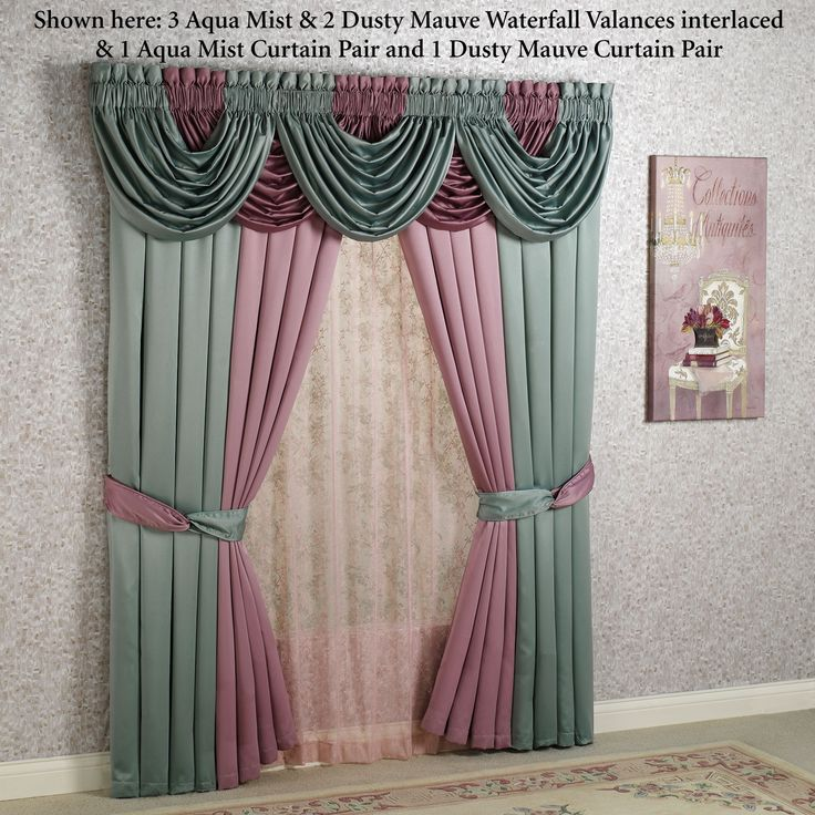 37 Best Images About Drapes On Pinterest Tassels Window Treatments And Waterfalls