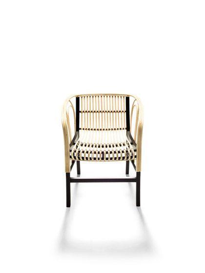 Uragano natural by De Padova | Restaurant chairs