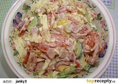 Maglajz (salát) aneb večerní pochutnání recept - TopRecepty.cz
