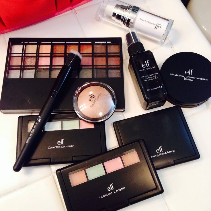 The top 10 best e.l.f. cosmetics beauty makeup products!...and I'm an E.L.F type of girl. .- EB