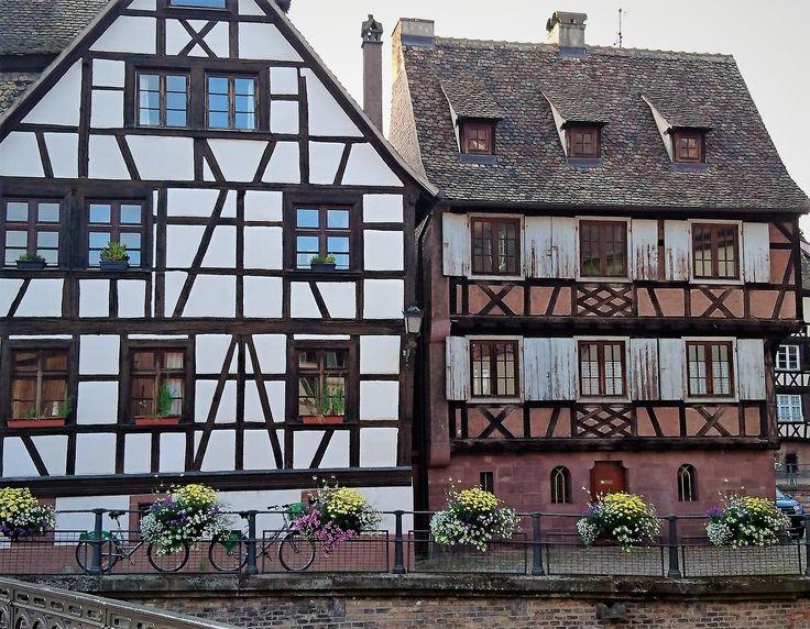 Stunning houses of Petite France, Strasbourg.