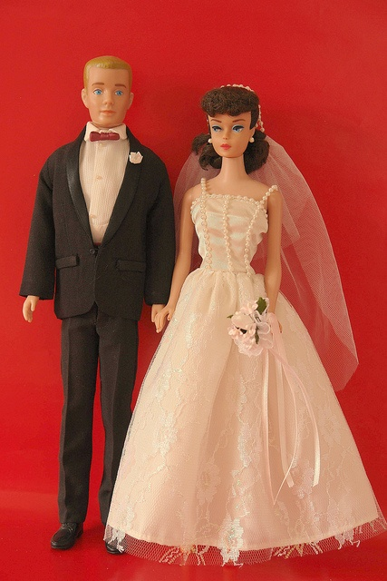The 60's Barbie and Ken??