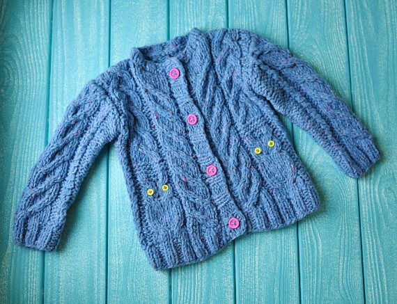 baby knitted tweed jacket little jacket for kids handmade