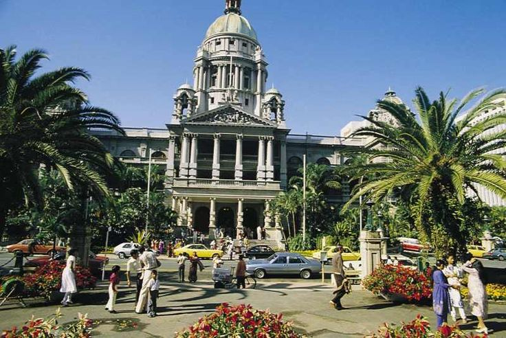 City Hall, Durban. South Africa.An exact copy of the city hall in Belfast N. Ireland.