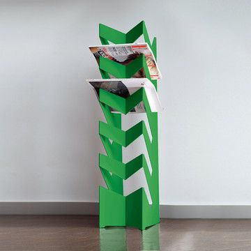 Radius News Stand Green  by Ralph Kraeuter