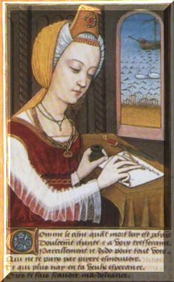 """www.letteraturaalfemminile.it Donne nel Medioevo, Trotula  de Ruggiero ( 1050 - 1097 ).Fu la più famosa delle """"Mulieres Salernitanae"""", le Dame della Scuola Medica di Salerno, dove la scienziata studiò e insegnò. Le sue teorie precorsero i tempi in molti campi tra cui quello della prevenzione e dell'igiene. Fu autrice di trattati di medicina che mostrano eccezionali conoscenze in campo dermatologico, ginecologico ed ostetrico."""