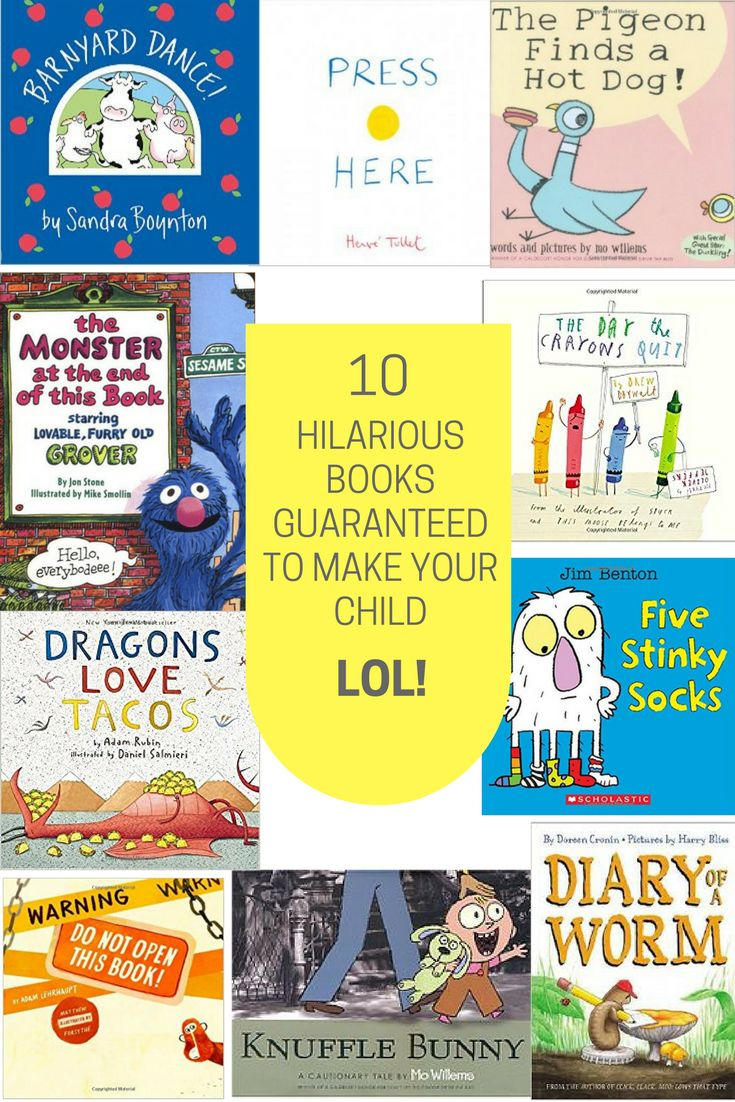 10 Hilarious Books Guaranteed to Make Your Child L…