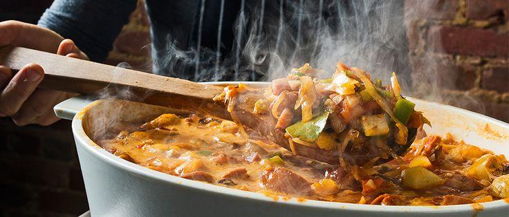 Nick Balla and Cortney Burns, the chefs behind Bar Tartine in San Francisco, make smoky, Slovakian-influenced sauerkraut soup for Christmas.