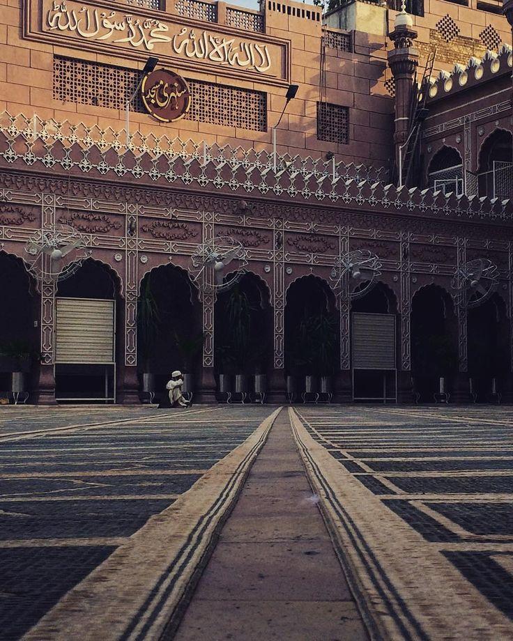 Sunehri Mosque in Peshawar, Pakistan.