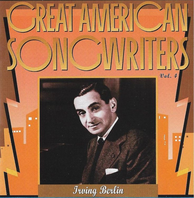 Great American Songwriters, Vol. 4: Irving Berlin by Various Artists CD 1993 RHI #ShowVocals