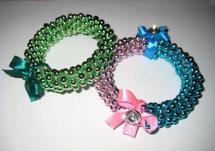 DIY Браслеты из бусин и пластиковой бутылки / Bracelet from a plastic bottle / Handmade