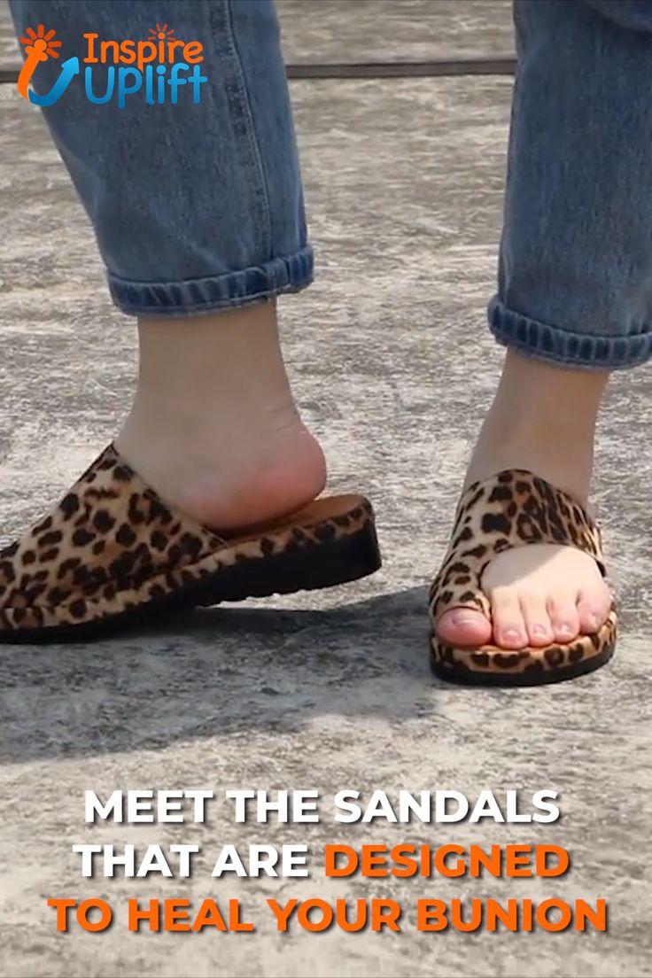 Bunion Corrector Platform Sandals 😍