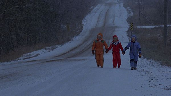 """THE BROOD (Cronenberg, 1979) Saw this when I was too young. My sister and I called them the """"strawberry kids"""""""