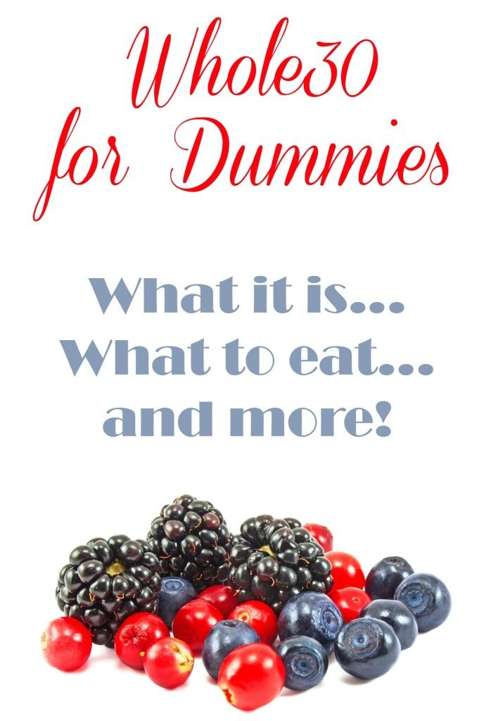 #Whole30 For Dummies – What is it all about? What is it? What do you eat? Helpful resources and more!