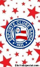 Estampar escudo do Bahia na foto time de futebol na sua imagem adesivar brasão colar logo colocar o distintivo do clube