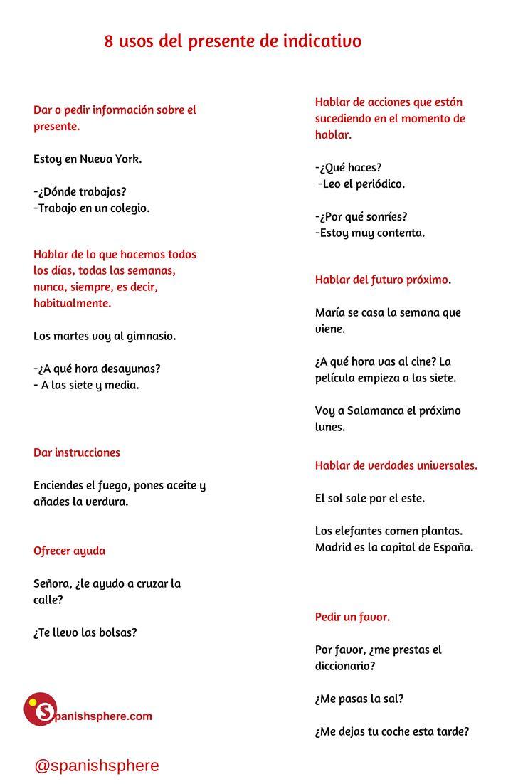 21 best Gramática - Presente de Indicativo images on Pinterest ...