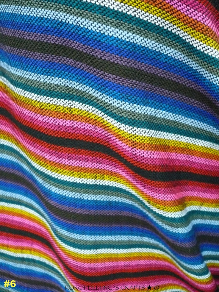 Mexican Fabric Knit Fabric Striped Fabric Beautiful