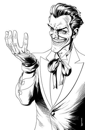 The Joker An Adult Coloring Book