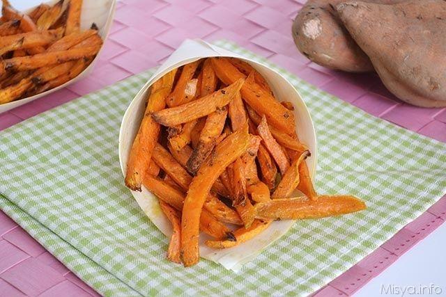 » Stick di patate dolci Ricette di Misya - Ricetta Stick di patate dolci di Misya