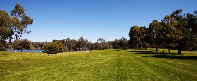 Golfing in Clare Valley, next to the Clare Country Club