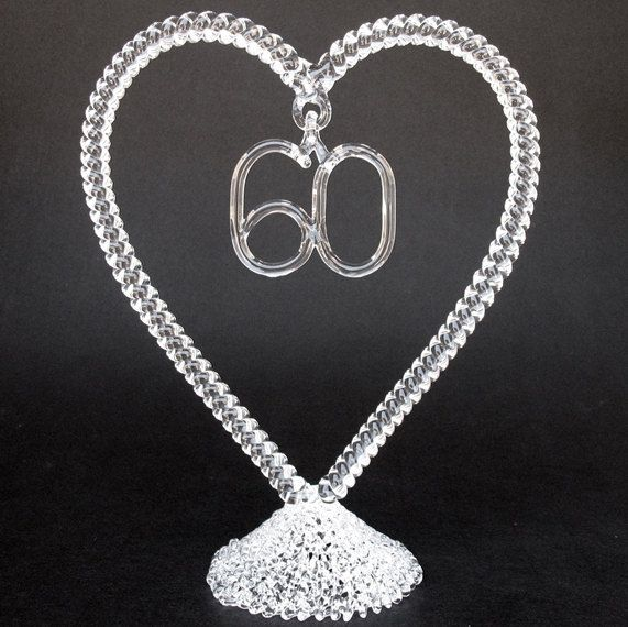 60th Wedding Anniversary Cake Decorations Google Search