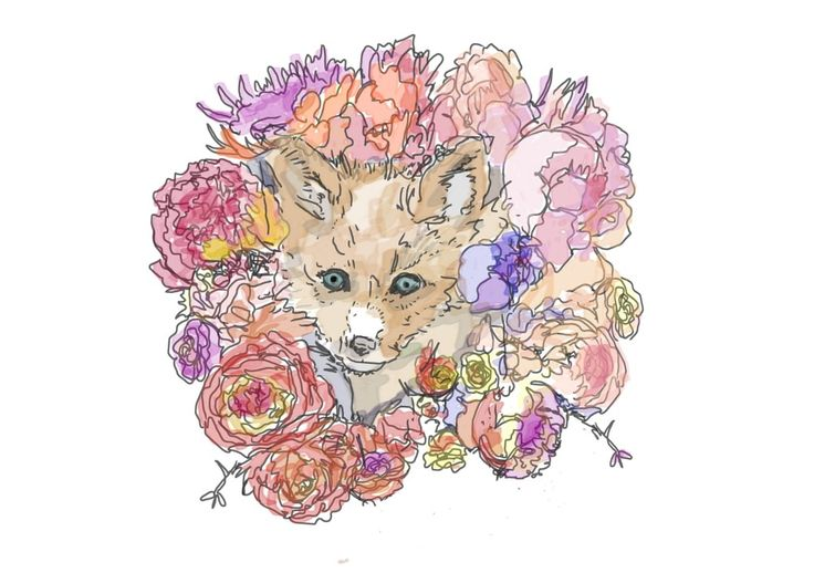 FOXY! Love! Fox (Woodland series) Nursery Print via Outie NZ. Click on the image to see more!