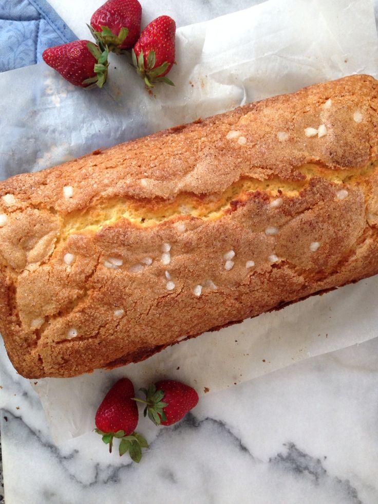 A classic: Madeira Cake. Recipe by Nigella Lawson