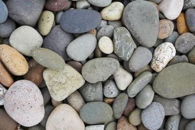25 Best Ideas About Rock Flower Beds On Pinterest