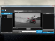 """Mit dem """"GoPro Studio"""" bearbeiten Sie Videos und bringen Ihre Action-Helmkamera per Software-Update auf den neuesten Stand."""