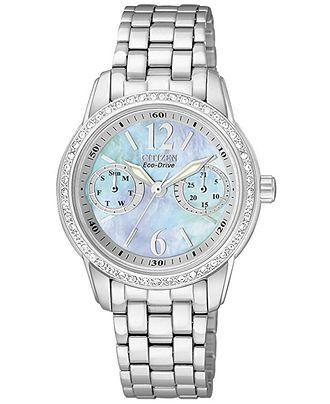 25 best ideas about citizen watches citizen mens citizen watch women s eco drive stainless steel bracelet 30mm fd1030 56y all