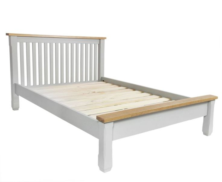 The Somerset Oak And Grey King Size Bed At Furniture Super