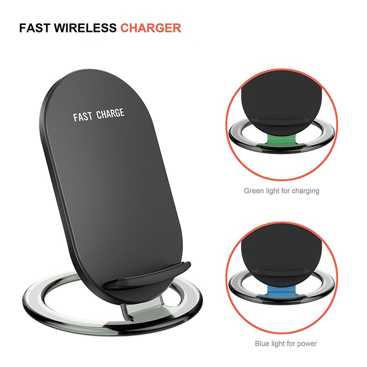 Wireless charger phone stand 2-coil