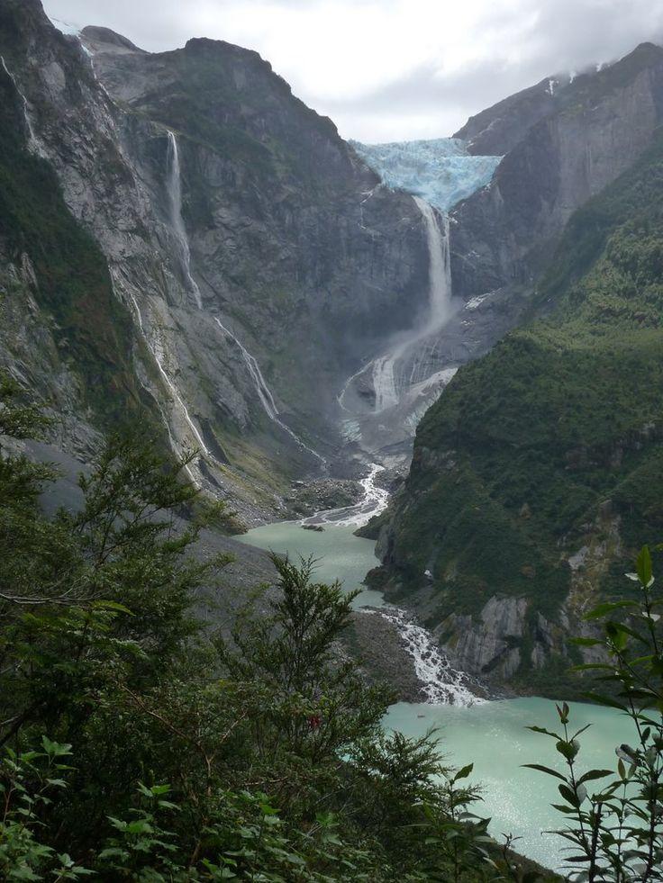 Ventisquero Colgante , Queulat Sur de Chile