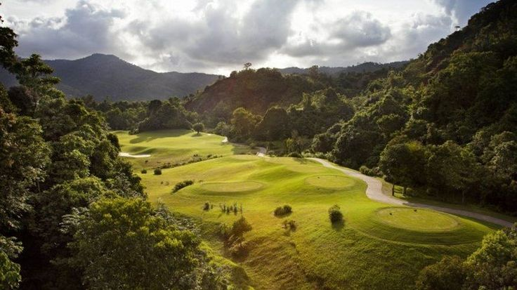 Phuket's most exciting course; dramatic scenery and great golf