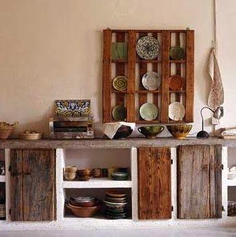 Cocina De Obra Rustica. Perfect De Fotos Con Ideas De Cocinas De ...