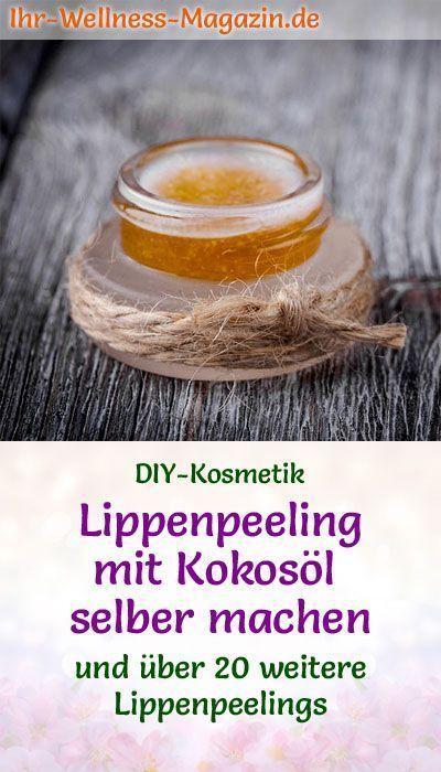 Lip Scrub Selber Machen Rezept Für Diy Lippenpeeling Mit Kokosöl