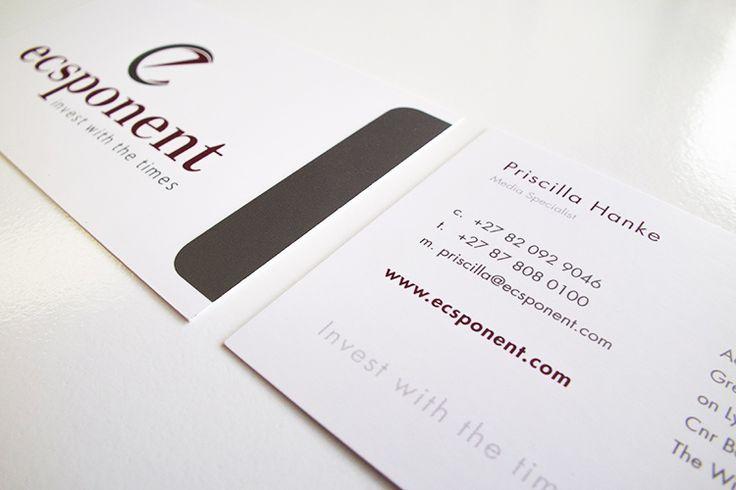 Ecsponent Business Cards