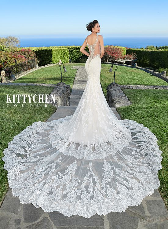 """Riley"" from Kitty Chen Couture collection"
