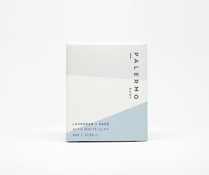 Palermo Body is a collection of natural skin care products made by hand in small batches by Jessica Morelli. Design by Stitch Design Co.