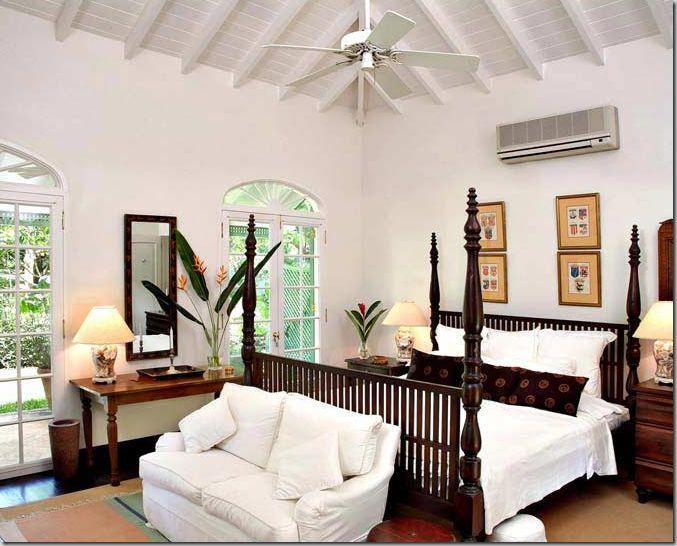 Caribbean island style decor